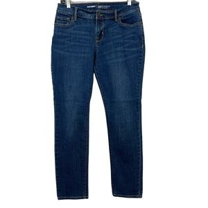 Old Navy Curvy Profile Midrise Straight Petite Jeans